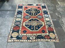 Oushak Vintage Rug,Handmade Floor Carpet,Tribal Handmade Carpet,Rugs Turkish
