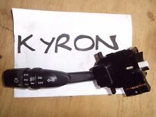 2008 SSANGYONG KYRON DIESEL INDICATOR SWITCH LIGHT SWITCH