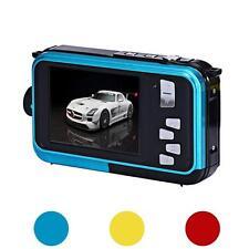 Luxus Doppel Bildschirm TF Karte Kamera 24MP 16x Digital Zoom Sport Tauchen