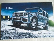 Mercedes G Class brochure Jun 2014