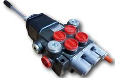 Hydraulic Valve Manual Control 2-fach 50 L//1x Doppelw Doppelw.1xschwimmstellung