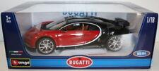 Véhicules miniatures noirs Burago pour Bugatti