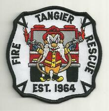 TANGIER VIRGINIA FIRE RESCUE DEPARTMENT PATCH/