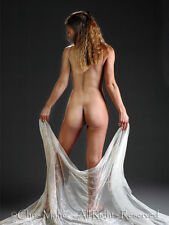 0760 Fine Art Nude Female Bum Backside Signed Photograph Chris Maher