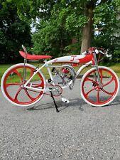 Motorized Bicycle Custom Gas Powered Bike 66cc Gee Bee Airplane Motorized Bike