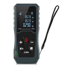 JP40 40M Handheld Digital Laser Distance Meter Historical Reading LCD Backlit