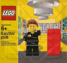 10 x the Lego 5001622 Store Staff Mini Figurine - Polybag New Sealed