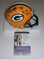 PACKERS John Jefferson signed mini helmet w/ 4X Pro Bowl JSA COA AUTO Autograph