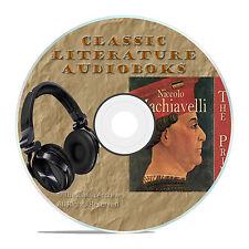 THE PRINCE, NICCOLO MACHIAVELLI, CLASSIC AUDIOBOOK LITERATURE MP3 CD-A79