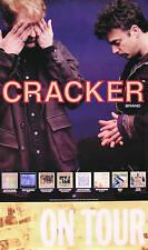 Cracker 1994 Album Release & On Tour Original Promo Poster