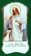 Santino ANTICO  SACRO CUORE di GESU'  IMAGE PIEUSE - HOLY CARD SANTINI