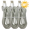 10Ft 3M Braided Micro USB Cable Fast Charge Samsung S7 S6 LG Android Charger Lot