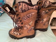 Guide Gear Giant Timber Ii Men's Insulated Waterproof Hunting Boots, Mossy Oak