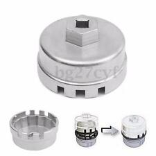 64.5mm 14 Flute Cap Oil Filter Wrench Car Remover Auto Tool Universal For Toyota
