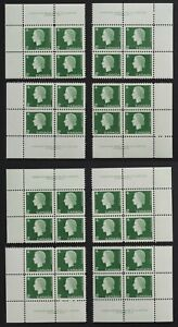 #402 plate 1 + plate 2 Matched sets of each. Very fresh -see pics front/back