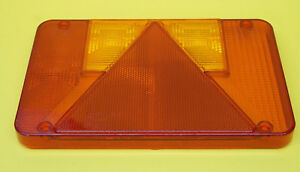 FREE UK Post - RH Replacement Lens for Radex 5800 Rear Trailer Lamp