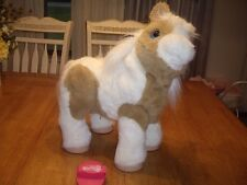 EEUC FurReal Friends Interactive Baby Butterscotch Horse with Brush