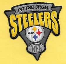 """New Pittsburgh Steelers 'NFL' 4 X 4 """" Iron on Patch Free Shipping"""