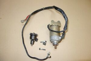 Piaggio Vespa ET4 125 moped scooter electric starter motor engine