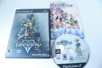 Kingdom Hearts II (PlayStation 2, 2006) Disney RPG Black Label Complete