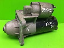 ALFA ROMEO 156 Starter Motor 2.5 V6 Petrol 97-08 Bosch 0001108159