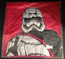 "POTTERY BARN KIDS ~ STAR WARS TROOPER ~ RED SHAM ~ 20"" ~ NEW WITH TAGS"