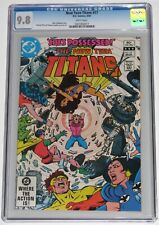 New Teen Titans 17 CGC 9.8. 3/82. 1st app Frances Kane aka Magenta. Flash TV CW!