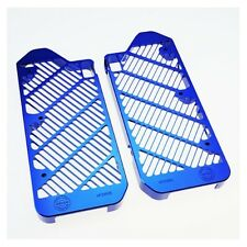 Bullet Proof Blue Radiator Guards for Yamaha 2014-17 YZ 250F 250FX 450F 450FX