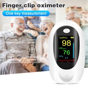 Professional Fingertip Pulse Oximeter OLED SpO2 Blood Oxygen Pulse Monitoring AU