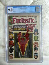 Fantastic Four #54, cgc,cbcs  9.0