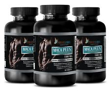 Ginseng capsules - MACA PLUS 1300MG - testosterone booster for men sex - 3 Bot