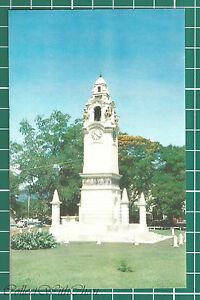 (CWC) Malaya 1950s/1960s Birch Memorial Clock Tower, Ipoh Postcard #3320 NM.