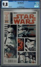 CGC 9.8 STAR WARS #21 1ST SCAR TROOPERS SQUADRON TEAM APPEARANCE MARVEL 2016