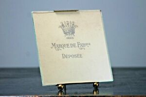 Antique photo frame genuine French gilt metal table top or wall hanging #09