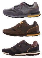 WRANGLER FOREST WM172180 scarpe sneakers uomo pelle camoscio tessuto casual
