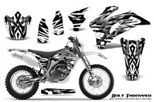YAMAHA WR250F WR450F 2007-2011 GRAPHICS KIT CREATORX DECALS BTW