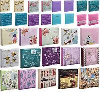 "500 Slip in 4/""x6/"" Photos Memo writing Choose Design Gift Photo Album Hold 200"