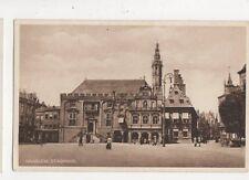 Haarlem Stadhuis Vintage Postcard Netherlands 643a