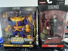 marvel legends The Infinity Gauntlet Thanos And Netflix Punisher