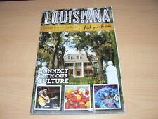 Louisiana  2015 Tour  Guide in englisch mit 172 Seiten & Grobe State Map