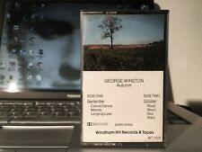 George Winston AUTUMN Cassette USA 1980 press - TESTED - Windham Hill
