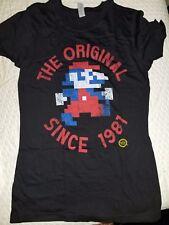 Lootcrate Exclusive Mario Original Since 1981 NES Shirt Woman's Medium Nintendo