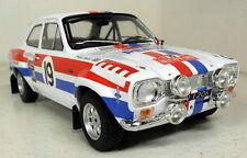 Triple 9 1/18 Escala Ford Escort MK1 Rally Monte Carlo 1972 Diecast Modelo Coche