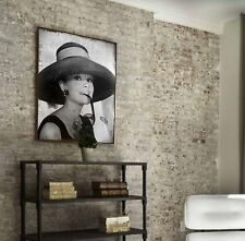 XXL Audrey Hepburn Bild Leinwand 100x80x5 Shabby-Chic vintag Gemälde sepia Ikea
