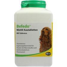 BEFEDO MinVit für Hunde Kautabletten  180 st   PZN 1896412