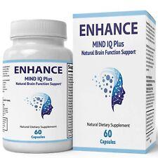 Enhance Mind IQ Supplement - Advanced IQ Brain Supplement - Enhance Mind IQ P...