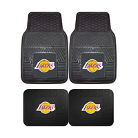 Los Angeles Lakers NBA 2pc and 4pc Mat Sets - Heavy Duty-Cars, Trucks, SUVs