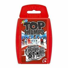 Top TRUMPS 13738 World Football Stars Game