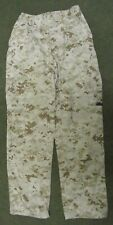 GENUINE US MARINES USMC MCCUU DIGITAL DESERT MARPAT COMBAT TROUSERS. SMALL-SHORT