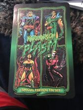 WARRIORS OF PLASMA Special Edition Tin Set 1993 ~ NEW SEALED